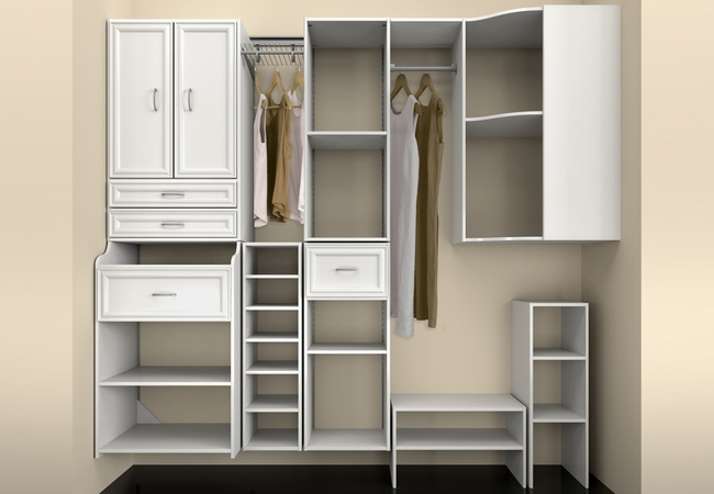 custom organize any closet
