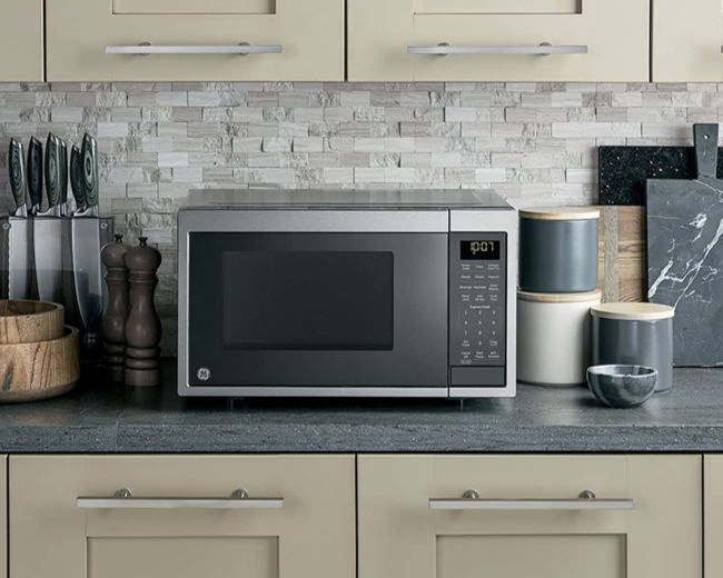 GE JES1097SMSS 0.9 Cu Ft 900W Smart Microwave Oven
