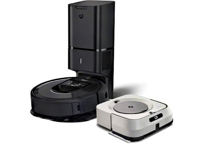iRobot i7 + M6 Robotic Floor Care Combo